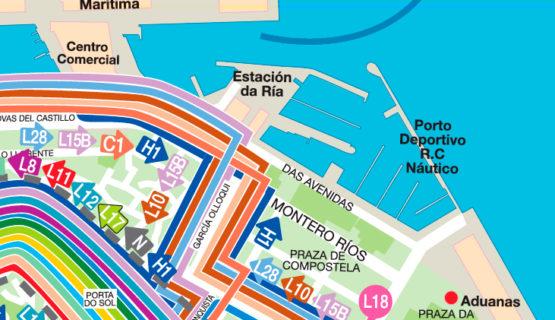 Mapa Parkings